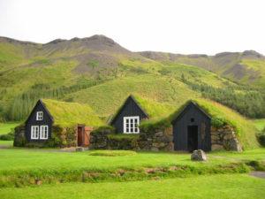 green Icelandic inspired